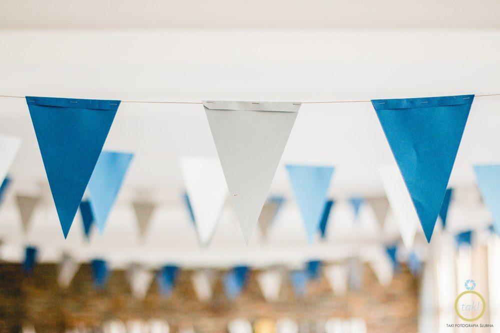 Proporczyki wesele ozdoby poznań fotograf