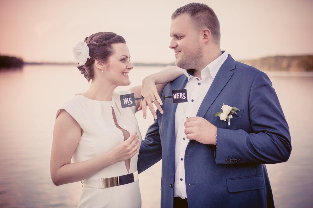 Sesja plenerowa w dniu ślubu fotografia ślubna poznań