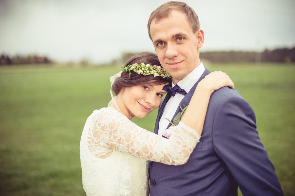 sesja plenerowa w dniu ślubu poznań