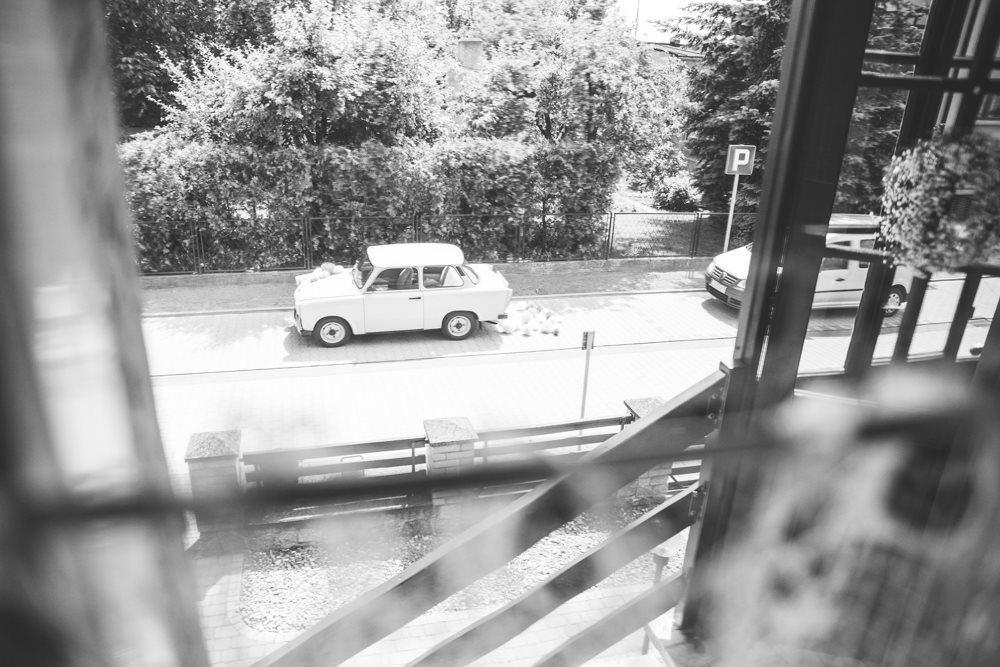 Samochód do ślubu fotografia ślubna gniezno