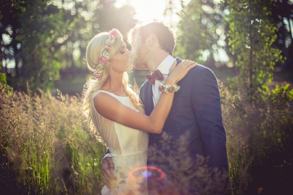 sesja plenerowa w dniu ślubu krotoszyn Hotel Wawrzyniak