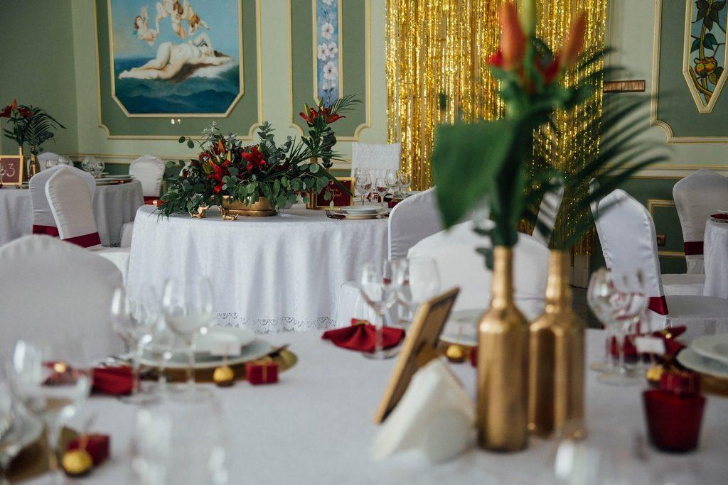 Pałac Balcerowo sala ślubna