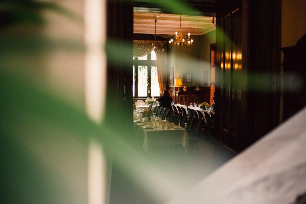 wnętrze sali weselnej w pałacu w Wąsowo obok poznania