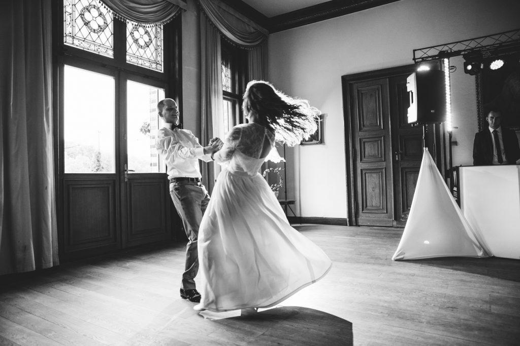 Pierwszy taniec Pary Młodej w Pałac Wąsowo