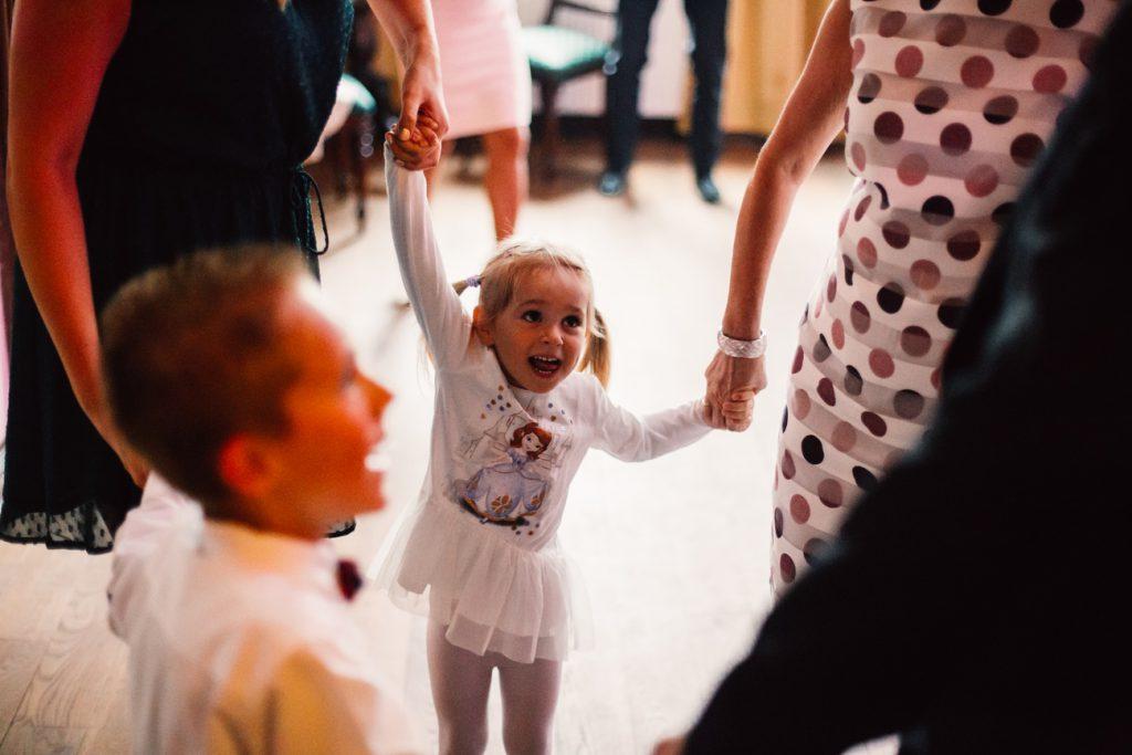 Wesele w Pałac Wąsowo dzieci na weselu