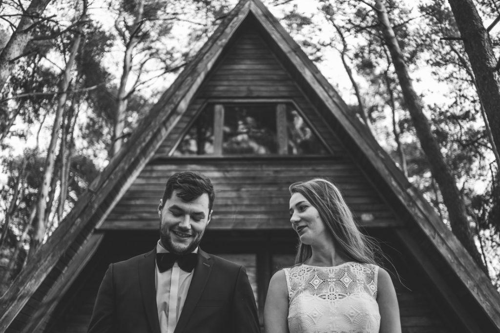 Sesja śluba Jankowo Dolne ośrodek wypoczynkowy trzemeszno piła