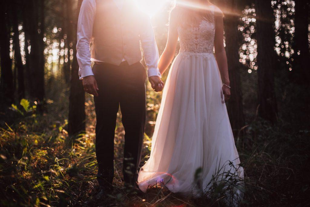 sesja plenerowa naturalna fotografia ślubna poznań